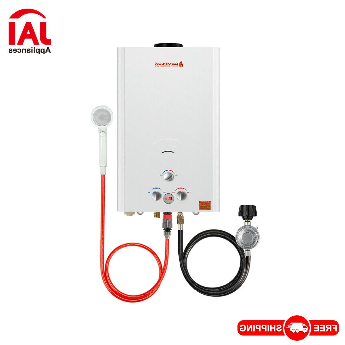 4 22gpm propane gas tankless