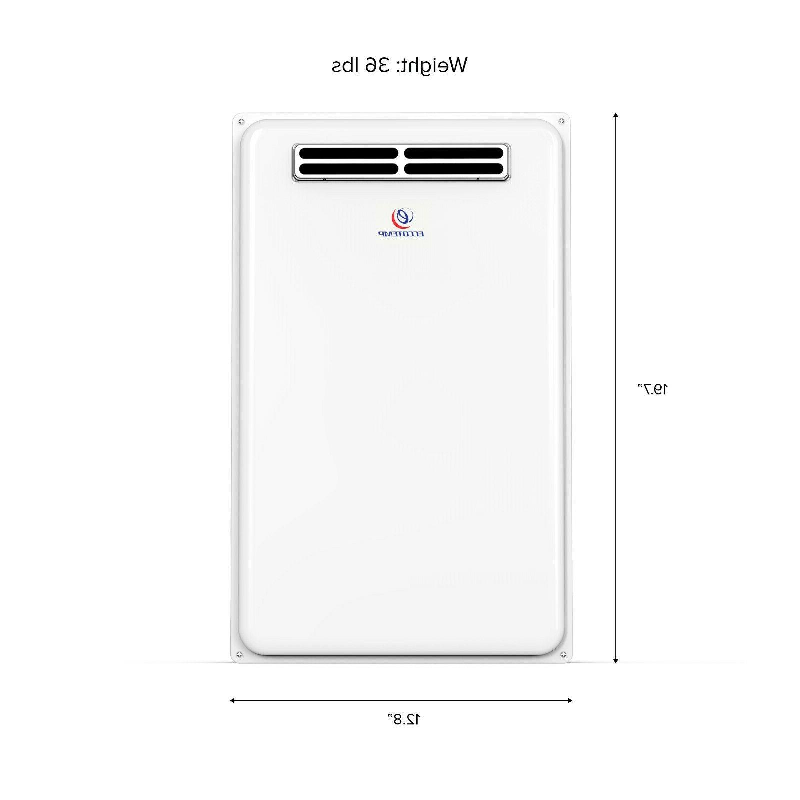 Eccotemp 45H Outdoor 6.8 GPM Natural Water Heater
