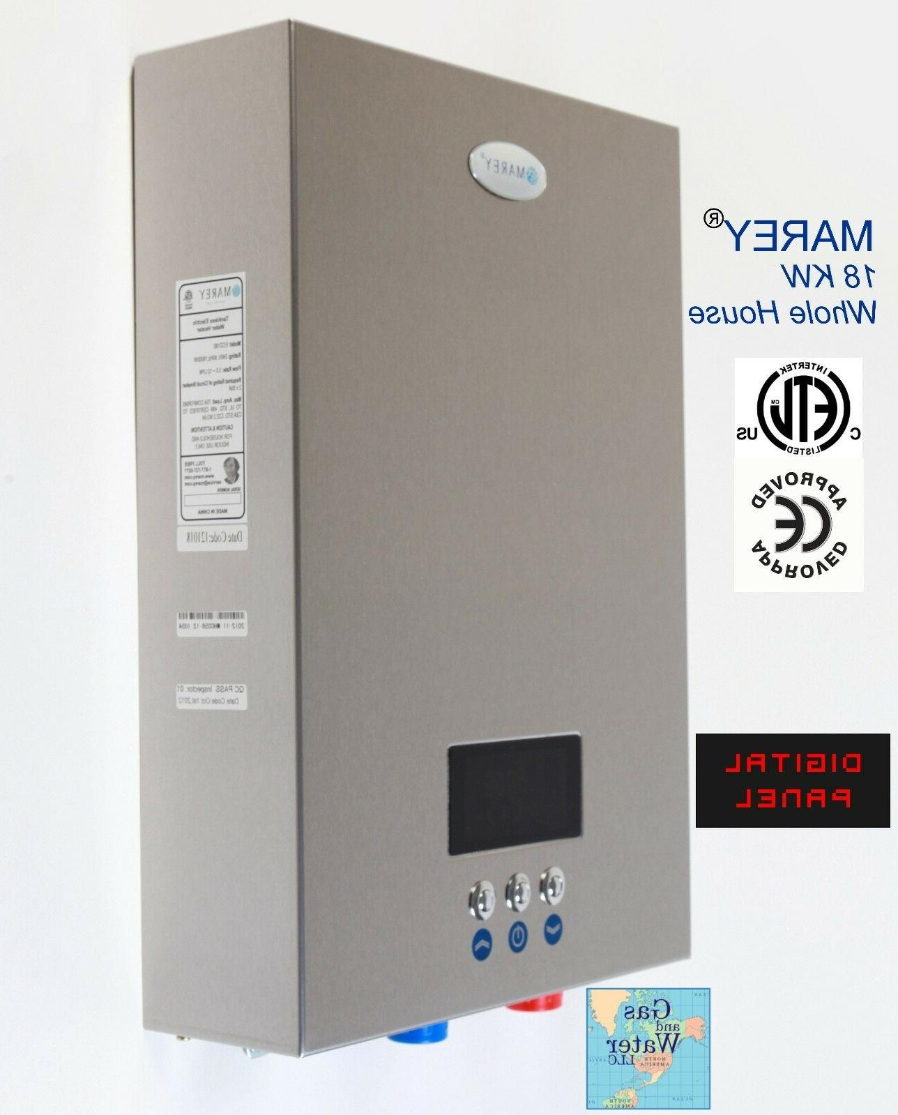 Marey GPM Electric Instant Water Heater 18KW