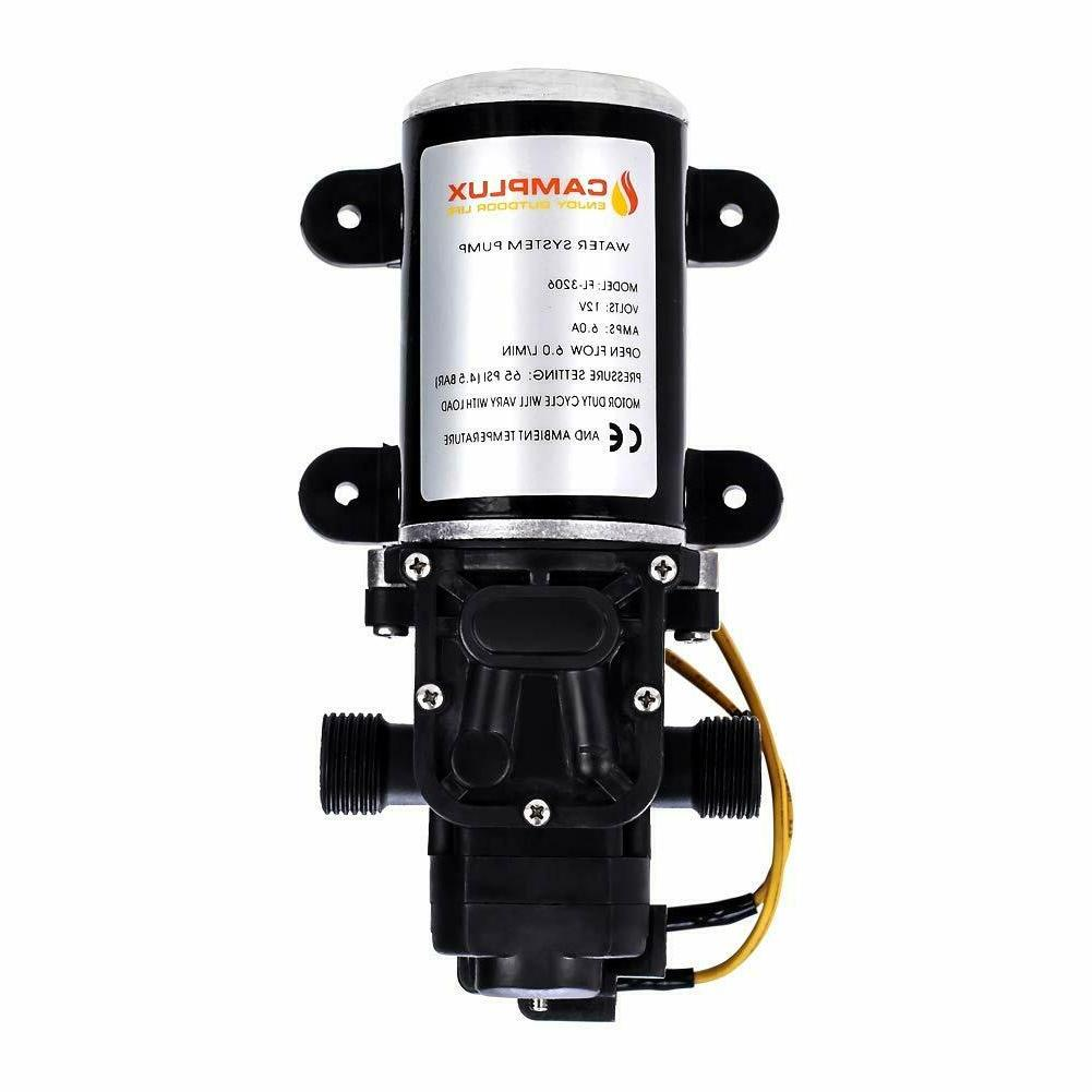 Camplux GPM Outdoor Tankless Water Heater +1.58 GPM Pump