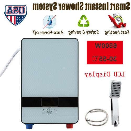 led tankless instant electric hot water heater