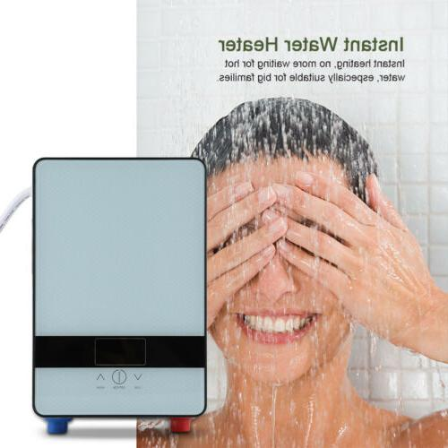 LED Instant Hot Water Heater Shower Set 6500W