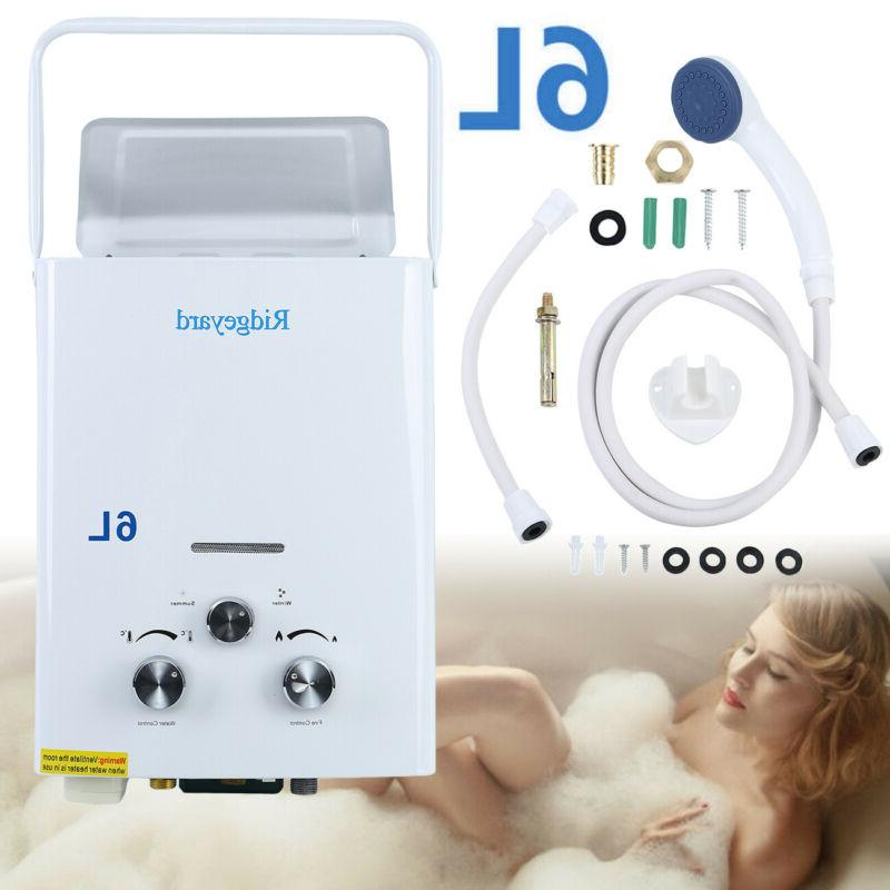 6l portable tankless hot water heater propane