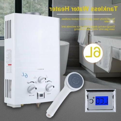 6l tankless gas water heater propane gas