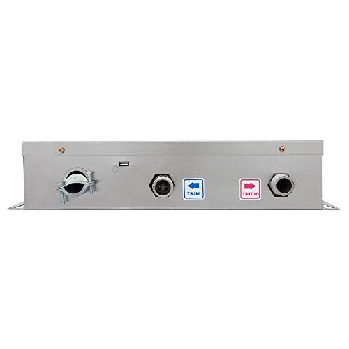 """112.5A Enclosure MIP 16"""" by 17"""" by Electric Heater, 17.5"""