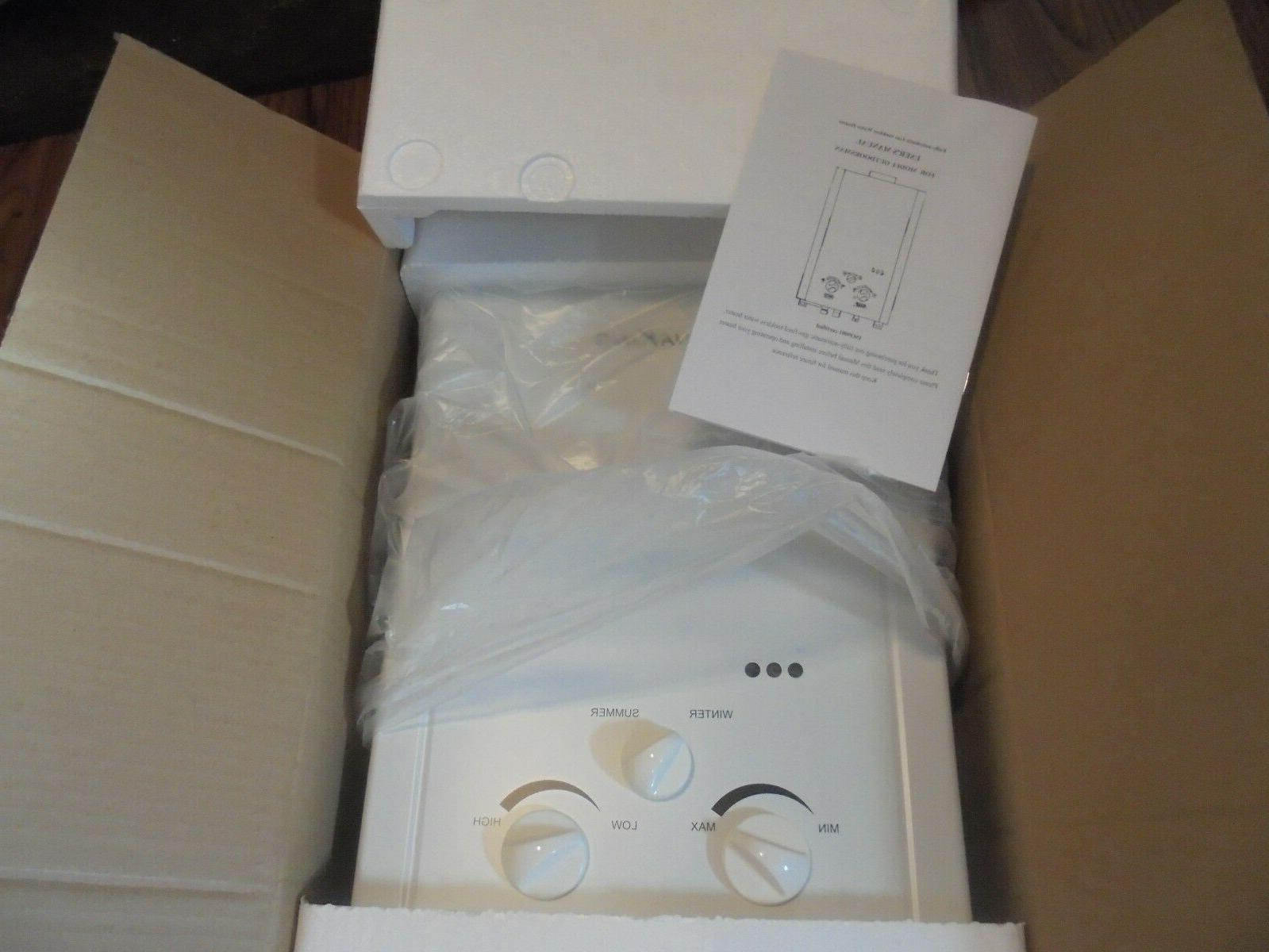 AquaKing Portable Tankless Heater 1.6 New in