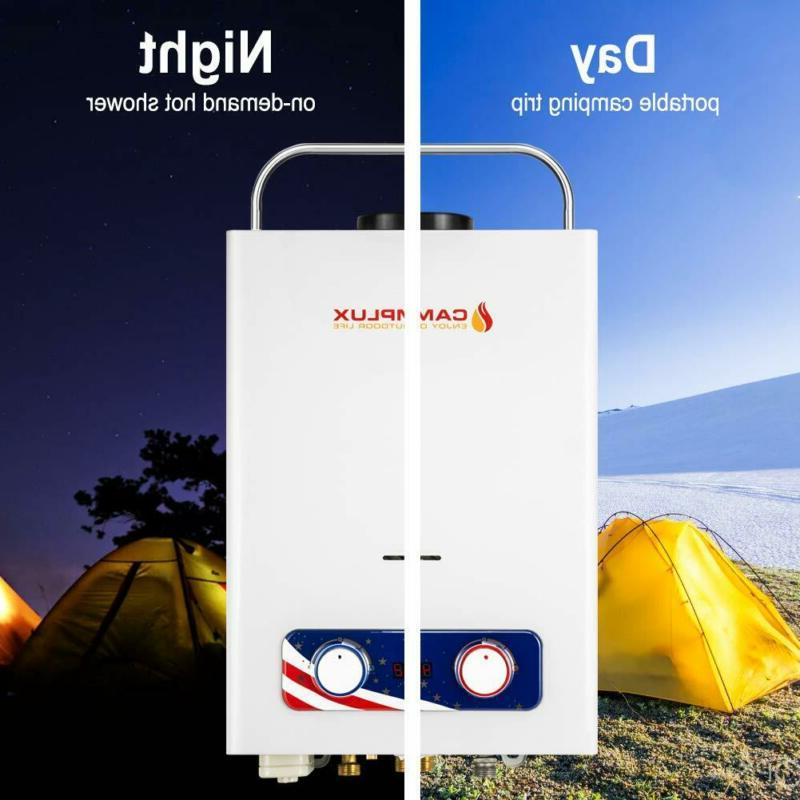 Bd158 1.58Gpm Outdoor Tankless Heat