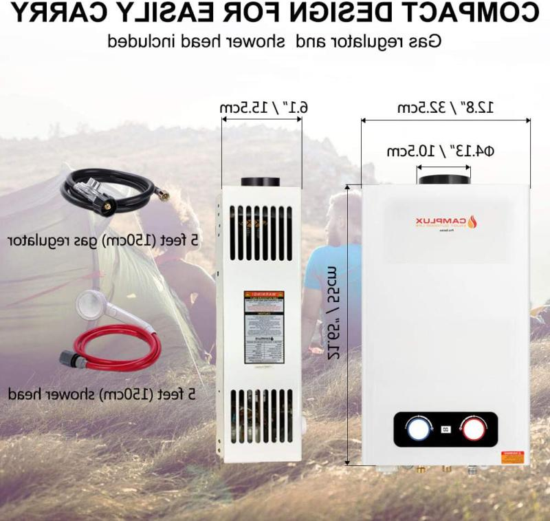 Camplux 2.64 Tankless Water Outdoor