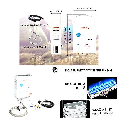 Camplux Outdoor Tankless Water 1