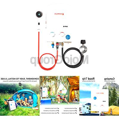 camplux 5l 1 32 gpm outdoor portable