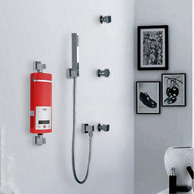 Electric Heater Shower Kit Display 5500W 220V