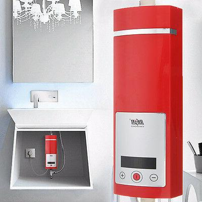Electric Instant Water Shower Touch Display 5500W Tankless