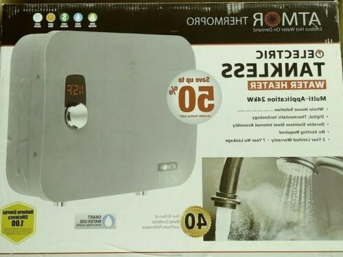Electric Tankless Water 24kw/240v-4.4gpm