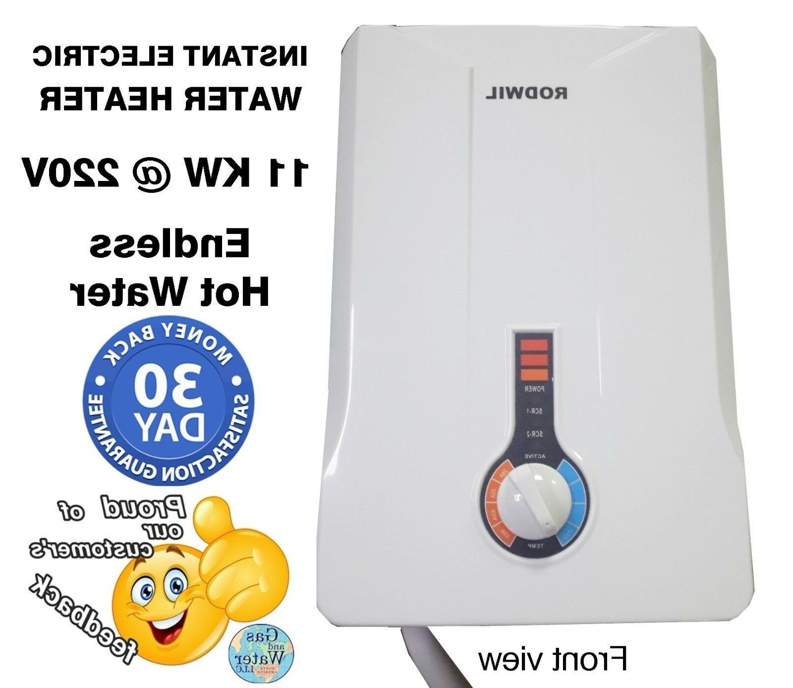 electric tankless water heater instant