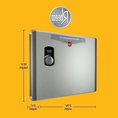 Rheem Electric Water Heater Instant kw Self-Modulating 5.3 GPM