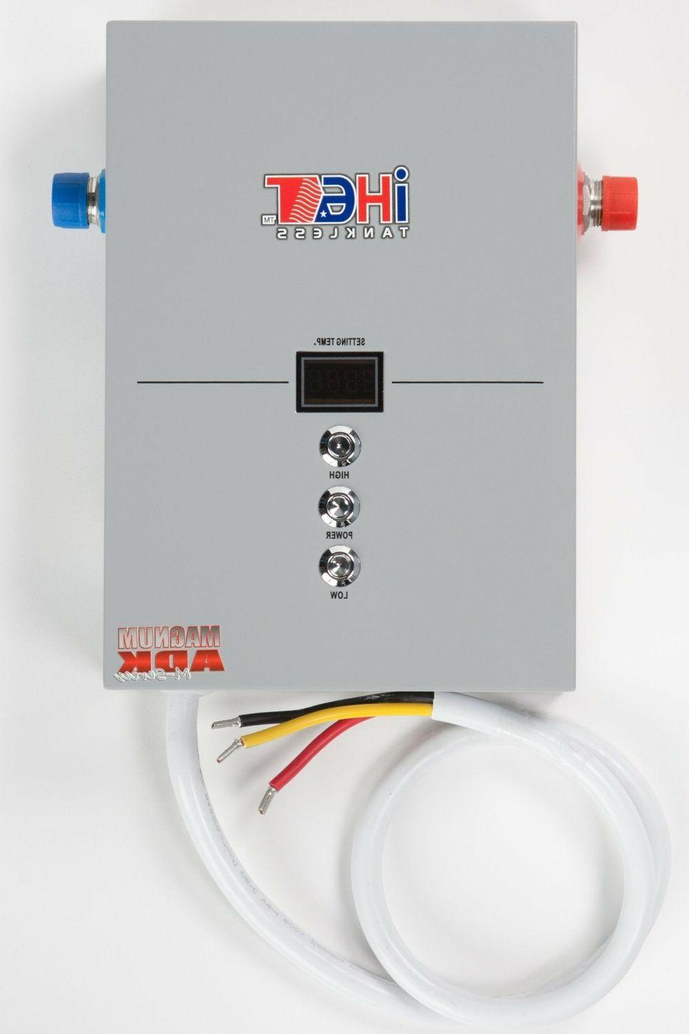electric tankless water heater model