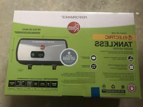 electric tankless water heater retex 06