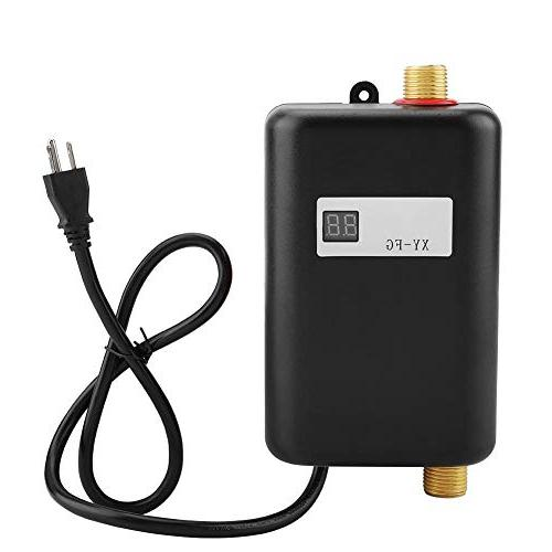 Zerodis Electric Water Heater 110V 3000W Mini Tankless Instant Hot Water System
