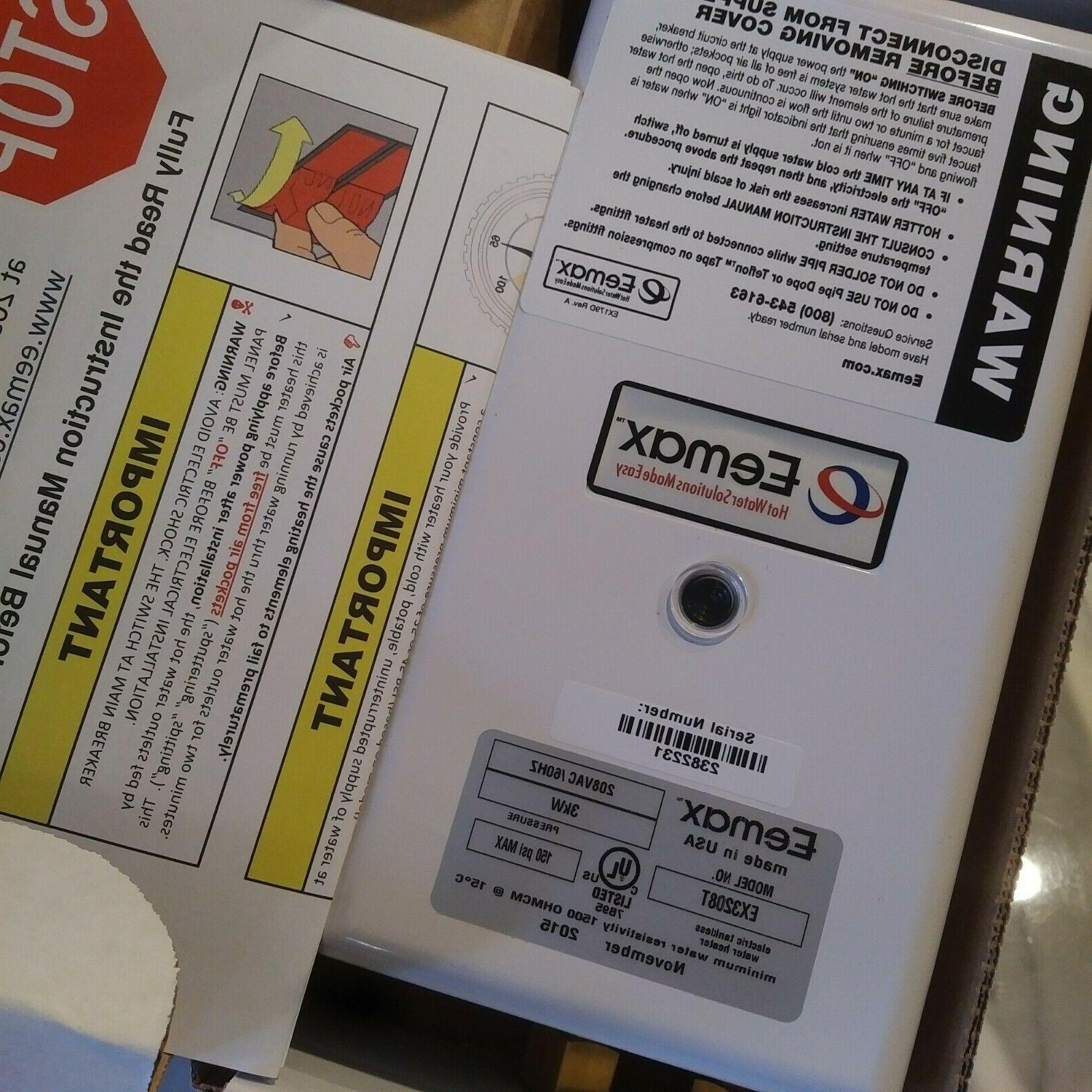 Eemax 3KW 120V Thermo Emergency Tankless