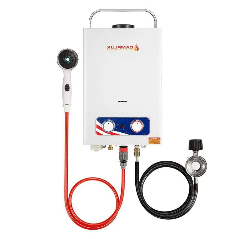 Fast Water Heater Boat Showers