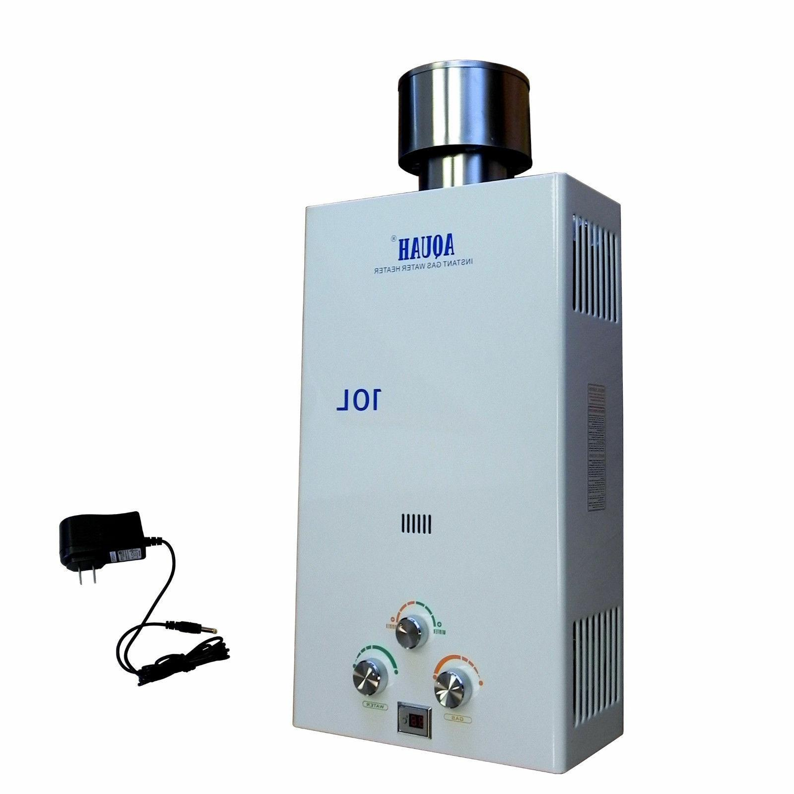 AQUAH GAS TANKLESS WATER HEATER WHOLE