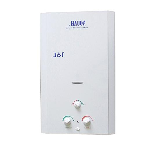 Aquah Indoor Gas Tankless 16L 4.3 Whole