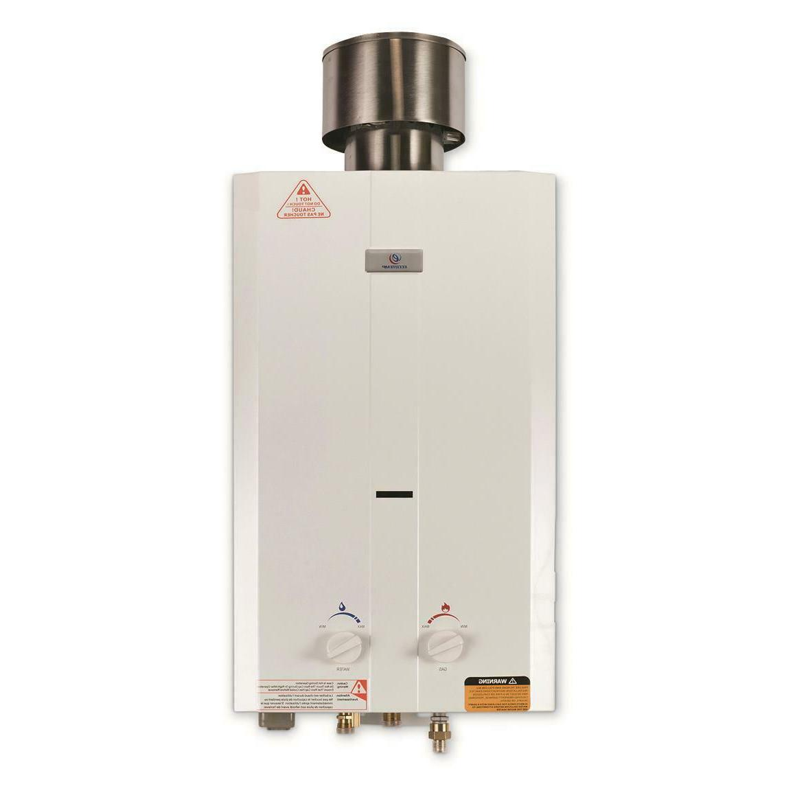 Gas Tankless 2.65 Outdoor