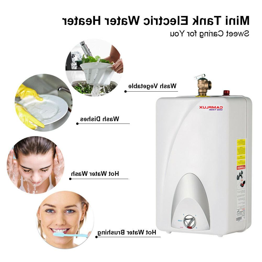 Camplux Electric Water Heater Volts
