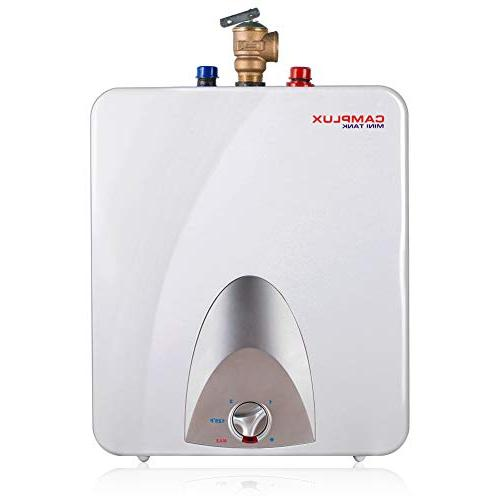 Camplux ME60 Mini Tank Electric Water Heater 6-Gallon,1.44kW