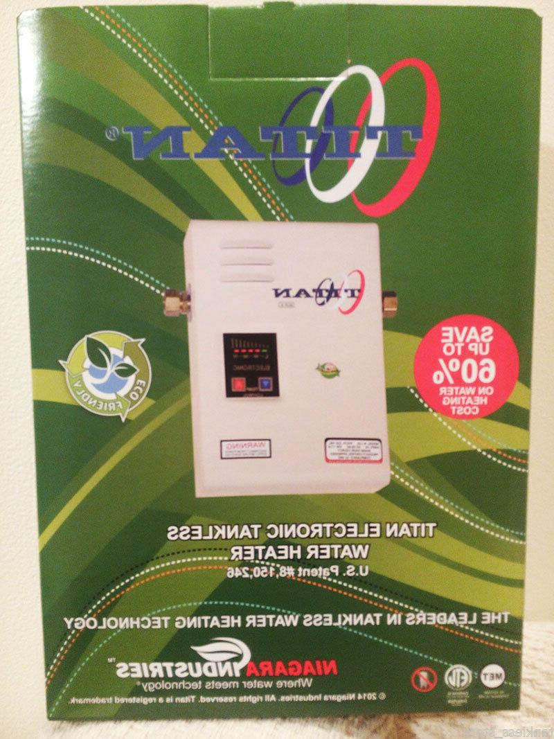 Titan Tankless Heater home model with price on