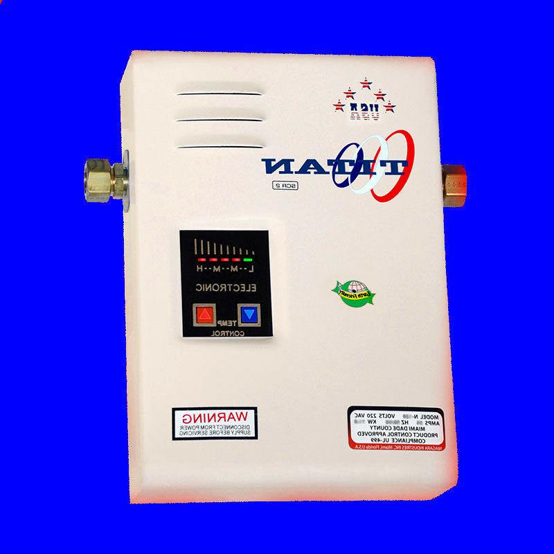 Titan Tankless N-85 Water Heater - New 2017 home model with