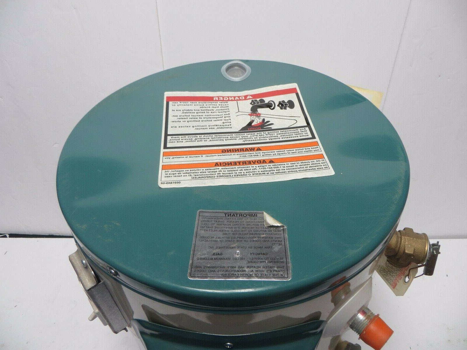 NEW Reliance Electric Water Gallon Model 5 6 K