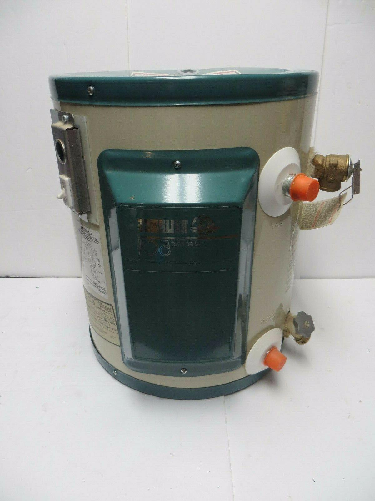 new 501 electric water heater 6 gallon