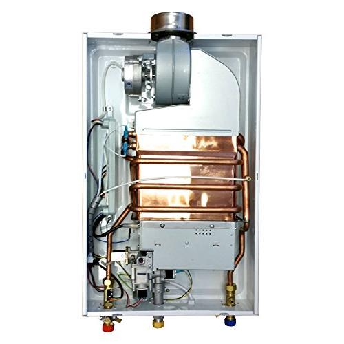 AQUAH PARAMOUNT NATURAL GAS TANKLESS WATER HEATER GPM
