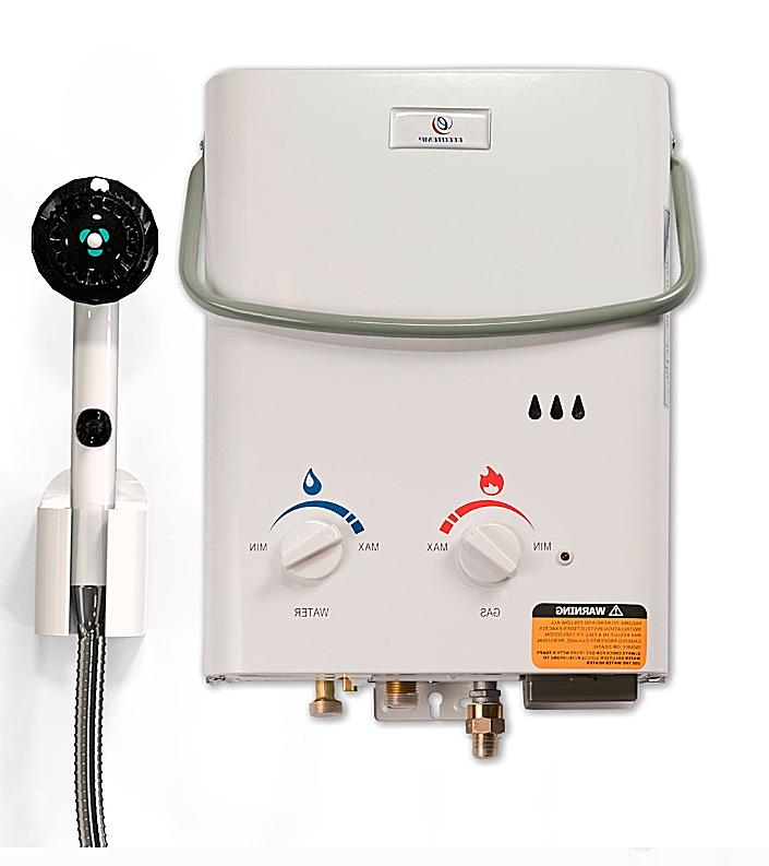 portable tankless water heater gas propane instant
