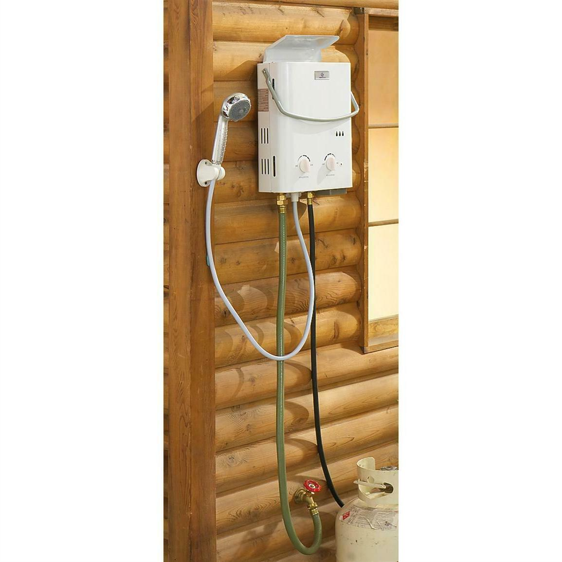 Portable Water Shower Propane Travel Camping