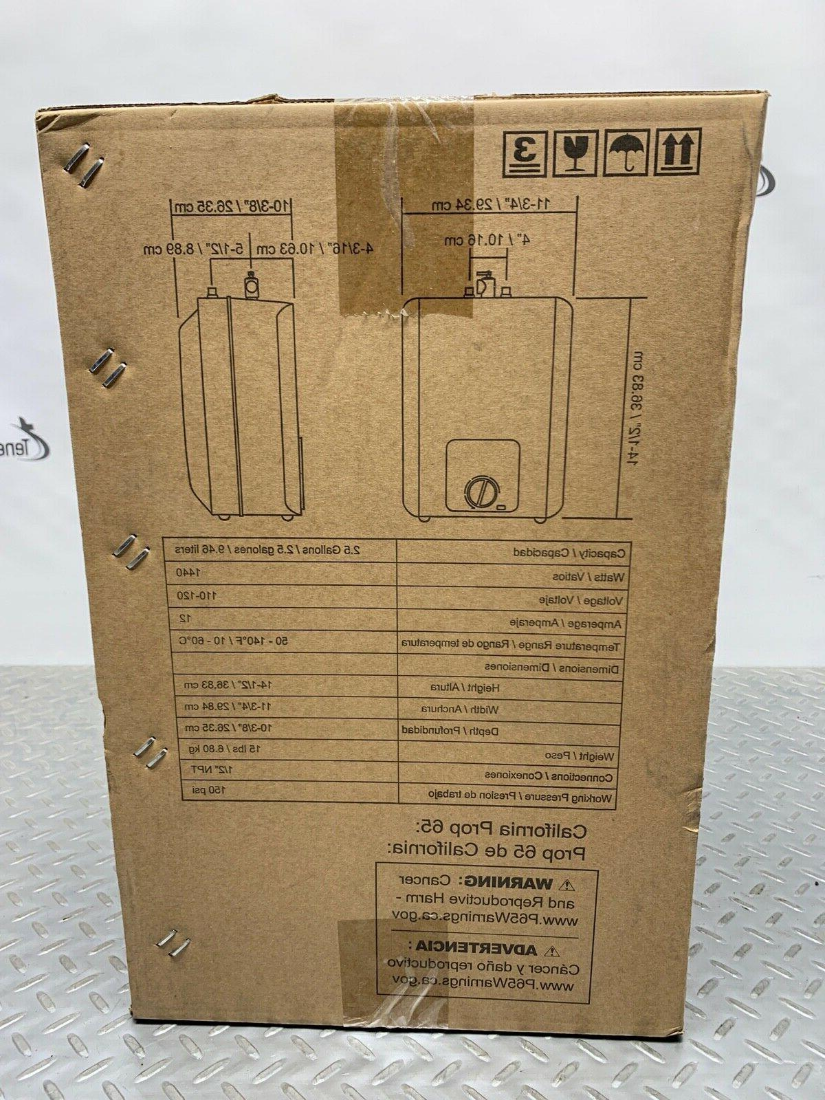 AO POU Instant Electric Heater Tankless 2.5 Gal.