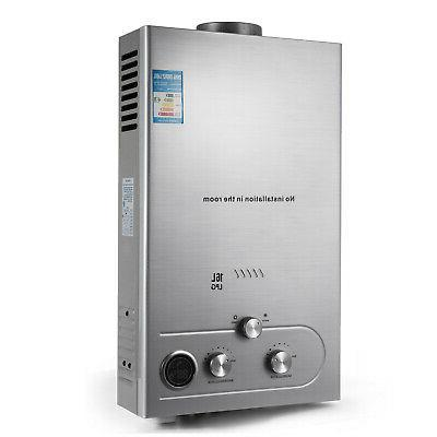 Tankless Hot Water Propane Gas LPG On-Demand 16L Digital Control