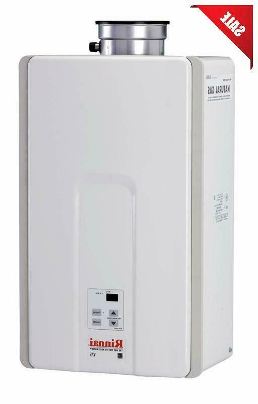Rinnai 7.5 Gpm Indoor Low Nox Tankless Natural Water