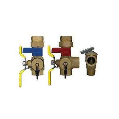 Rheem RTG20220AB Tankless Clean Brass Valve with