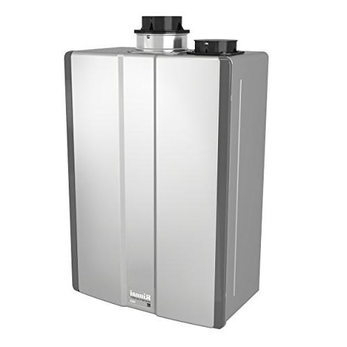 Rinnai Ultra Series Condensing Indoor Gas Tankless Water Heater, Max