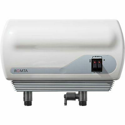 small electric tankless water heater for single