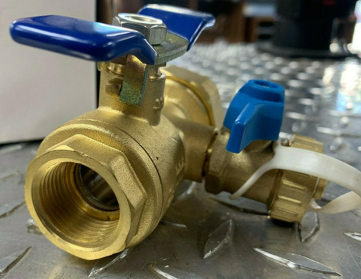 takagi-Tankless Water Isolation Valves With Relief Valve Threaded IPS