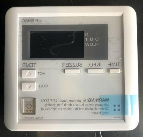 takagi tankless water heater remote temperature controller