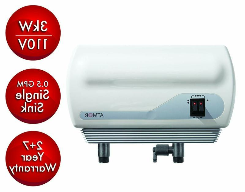 tankless electric instant hot water heater inline