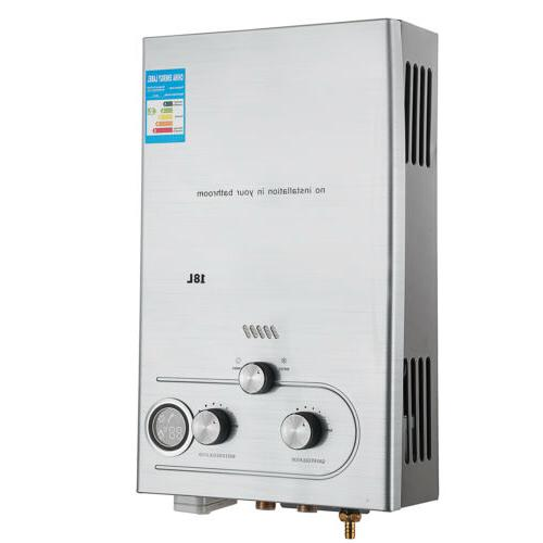 Tankless Natural Gas GPM House 18L