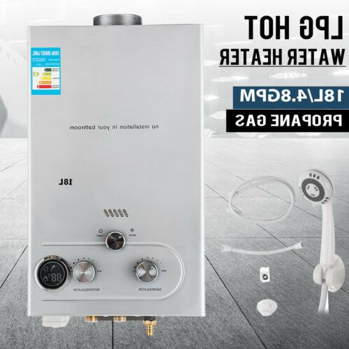 Tankless Natural GPM 18L