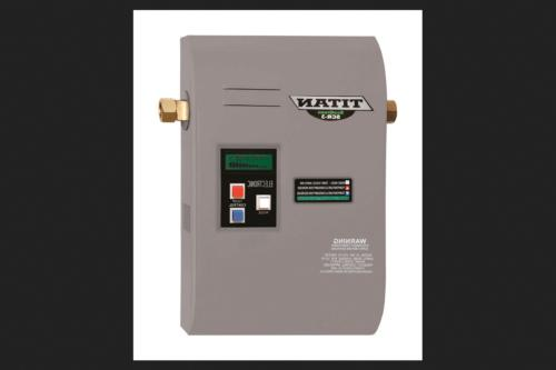 tankless water heater electric 12 in h