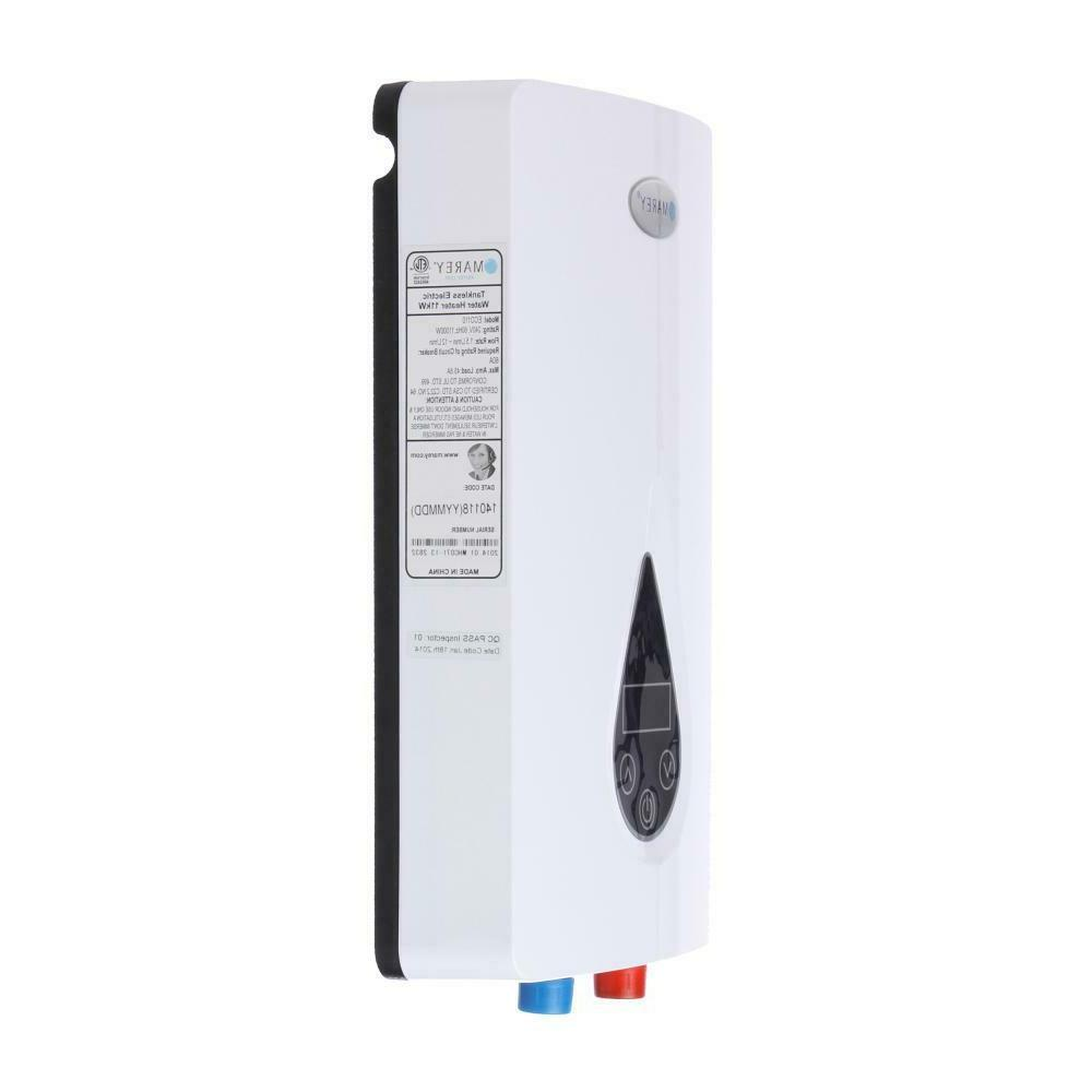 Tankless Water Heater Whole House ECO Instant Hot Demand 11kW 3.0GPM