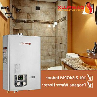 10L Water Heater Indoor Display With Vent